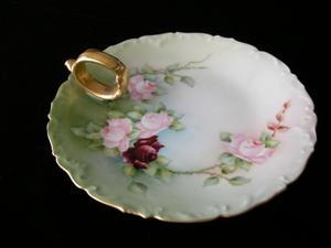 Limoges Lemon Serving Trays