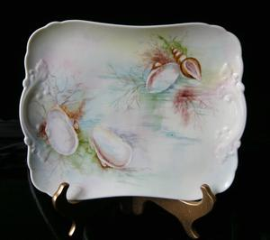 Limoges Seashell and Sea Themed