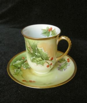Limoges Cups & Saucers