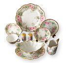 Handpainted Limoges Porcelain Dinner Sets